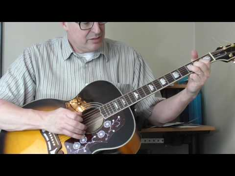 William Moore Guitar Lesson - Old Country Rock Part 2