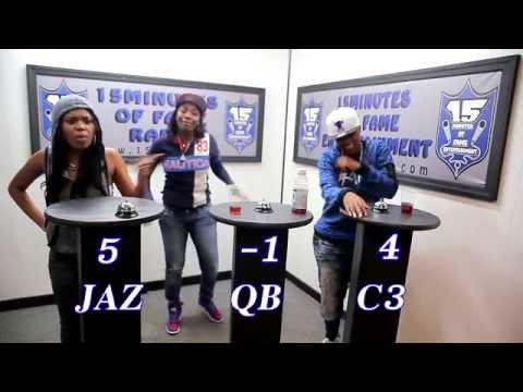 THE BAR EXAM Game Show Season 2 Episode 1 w/ Jaz The Rapper, QB & C3