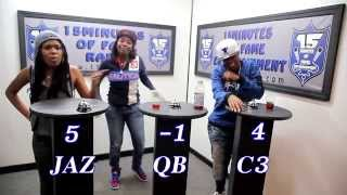 THE BAR EXAM Game Show Season 2 Episode 1 w/ Jaz The Rapper, QB & C3