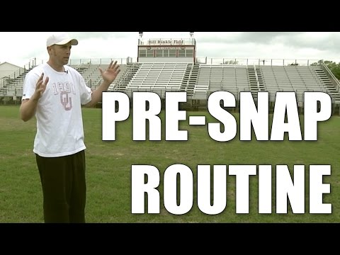 Jason White : Football Pre Snap Routine