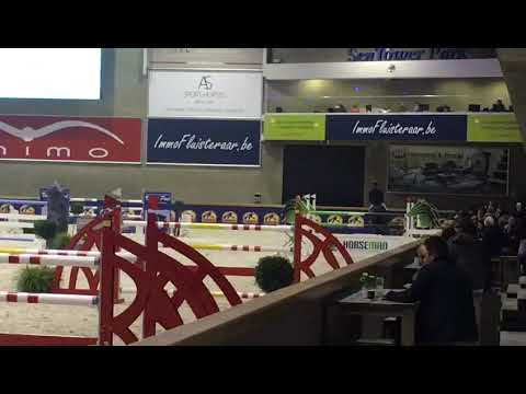 CSI2* Opglabbeek -  Kevin Staut & S&L Through the looking glass - 1.40m - 2017