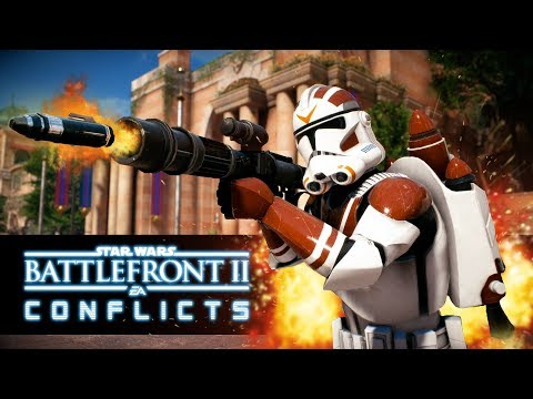 Star Wars Battlefront 2 Conflicts - Secrets of Naboo (Episode 3) The Clone Wars