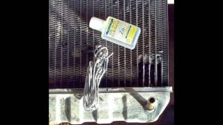 Ремонт радіатора своїми руками