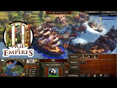AGE OF EMPIRES III - Acte II Ep.5 - les Grands Lacs - Campagne/Playthrough FR HD