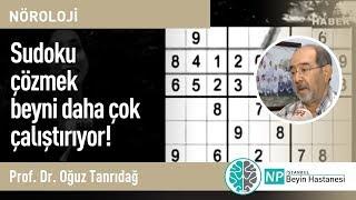 Sudoku çözmek beyni daha çok çalıştırıyor!