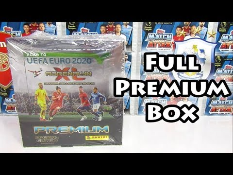 Panini Adrenalyn XL Road To Euro 2020 Premium Box Opening | Search For Every Premium Limited Edition
