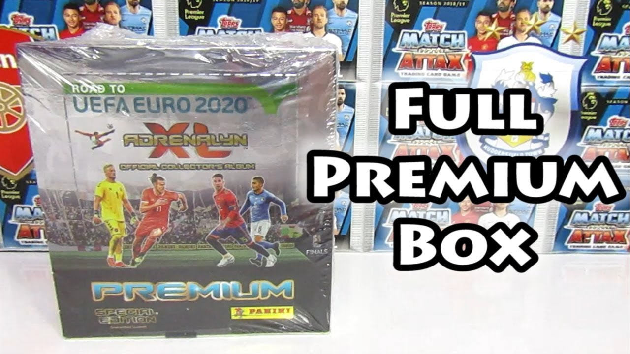 1 Limited Edition Panini Adrenalyn XL Uefa Euro EM 2020 1 x Blister 4 Booster