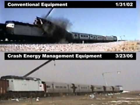 Cab Car-led Train Impact With Locomotive-led Train, January 31, 2002 And March 23, 2006.