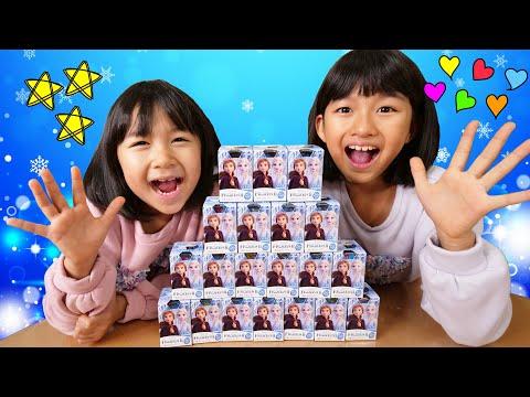 シークレット出た~wwアナ雪2チョコエッグ20個開封☆himawari-CH