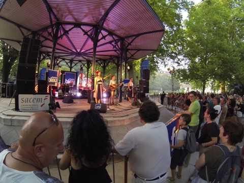 fête de la musique 2017 Grenoble - les Swing Girls