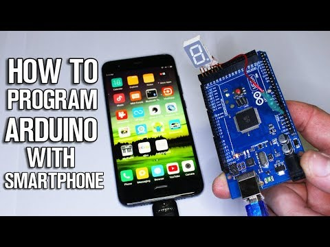 How To Program Arduino Board with Your Smartphone