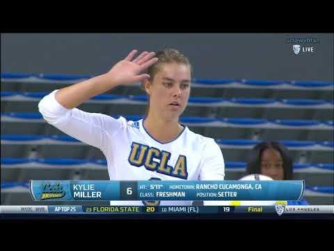 Arizona at UCLA - NCAA Women's Volleyball (Oct 9th 2016)