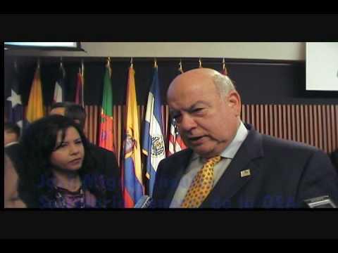 Declaraciones Secretario General OEA