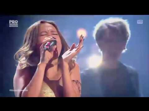 Rose Marie Velasquez wows coach with Satisfaction - Knockout Round The Voice Romania