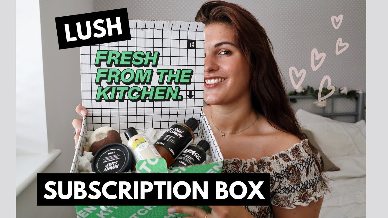 LUSH SUBSCRIPTION BOX?! all the details + thoughts | fresh ...