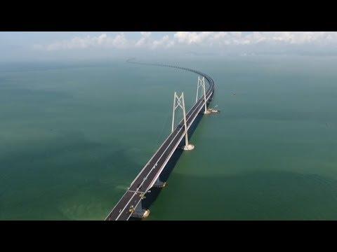 ahora-en-df:-el-presidente-de-china,-xi-jinping,-inauguró-el-mayor-puente-marítimo-del-mundo