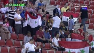 بطولة كأس العالم العسكرية | عواد حارس منتخب مصر يتألق ويتصدى لهدف مؤكد أمام سوريا