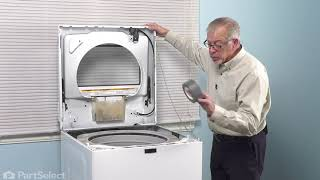 Whirlpool Washer Repair - How to Replace the Door Latch (Whirlpool # W11307244)