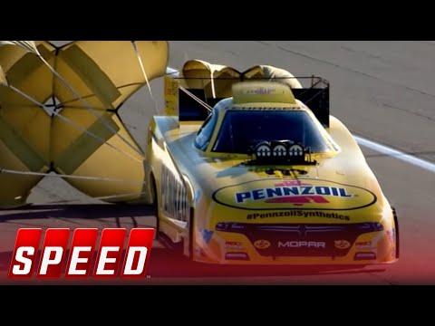 Courtney Force Vs. Matt Hagan - Las Vegas Funny Car Final   2017 NHRA DRAG RACING