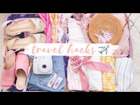 SUMMER TRAVEL HACKS | Tips you need to know! ✨