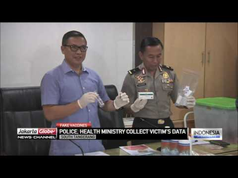 Fake Vaccine Factory Raid Sees 10 Arrests