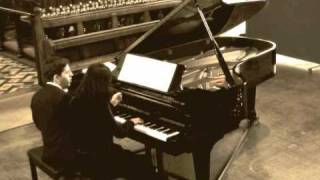 Amadeus Piano Duo plays Mozart