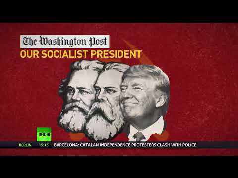 Comrade Trump: US president attacks socialism, though his policies resemble Soviet economy