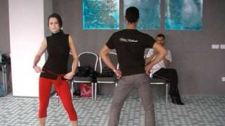 Salsa Brillante (Cluj, RO) - Body Movement @ 1st Hypnose Salsa Festival