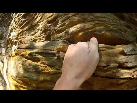 Rock Climbing Grand Ledge Michigan 5.10c Head Cam