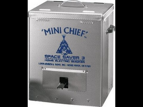 Smokehouse Products Mini Chief Smoker Youtube