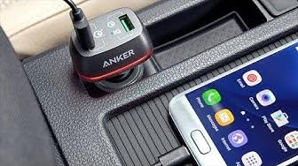Trên tay sạc Anker PowerDrive+ 2 42W QC3.0 trên ô tô