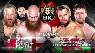 Andrews & Webster clash with The Hunt tonight on NXT UK