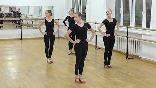 Репетиция молдавского танца