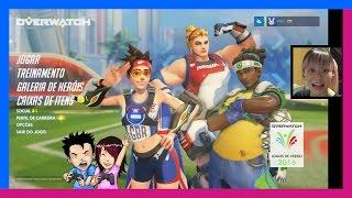 Overwatch: Luciobol - Eu e Ela Joga