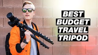 Best Budget Travel Tripod — K&F Concept Tripod Review