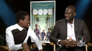 DOPE Interview W/ Shameik Moore And Dir. Rick Famuyiwa