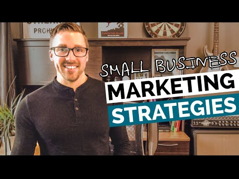 Marketing Strategies For Small Business 2019