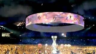 Астана, открытие Азиады-Факеры.avi(Цирковой групповой воздушный номер