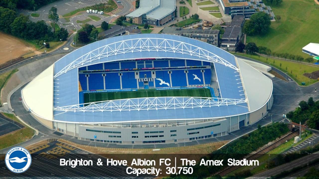 Premier League Stadiums 2017/18