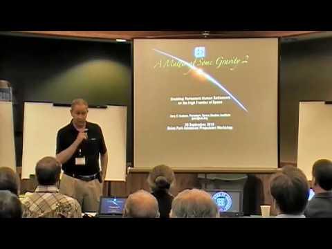 2016 Breakthrough Propulsion Workshop  remarks by SSI's Gary Hudson