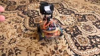 Испытания домашнего робота версия 0.3.1