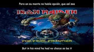 Iron Maiden The Man Who Would Be King lyrics y subtitulos en español
