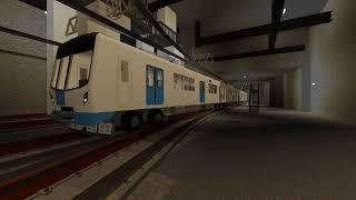 『マインクラフト』札幌市営地下鉄東豊線9000系西車両基地到着