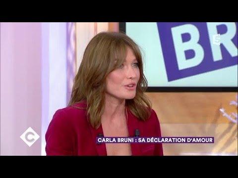 Carla bruni sa d claration d 39 amour c vous 06 10 for Bruni arredamento
