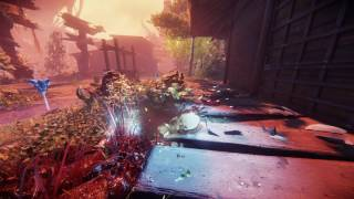 Shadow Warrior 2. Infinite geyser of sparks, blood and guts
