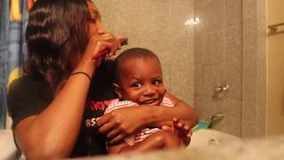morning time | get ready with us | stay at home mom | vlogtober | veteran dad