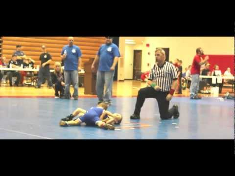 Cameron Banks 4 year old wrestler