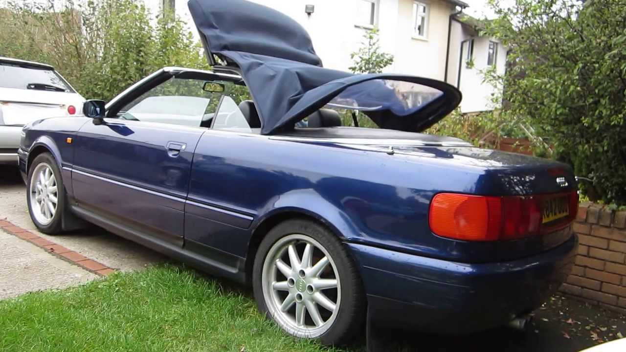 audi cabiolet 1998 2 8 for sale youtube rh youtube com 1997 audi cabriolet owners manual 1997 Audi Cabriolet Problems