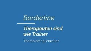 Borderline | Therapiemöglichkeiten