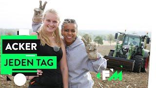 Traktor, Dürre, Bio-Siegel - Womit sich ein Farm Girl rumschlagen muss